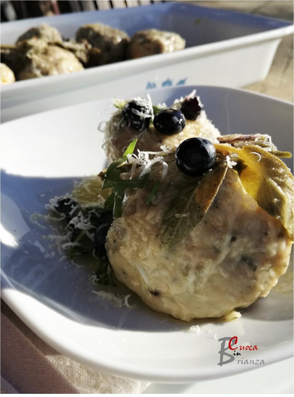 Canederli Con Coste E Mirtilli Cuoca In Brianza